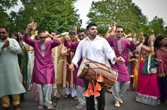 Dhol player in Slough , London, Nottingham and all that with Sting London