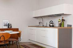 Cuisine IKEA monobloc blanc