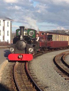 Boston Lodge, Festiniog Railway, North Wales.