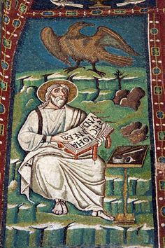San Vitale Basilica: St. John the Evangelist