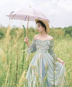 Jewelry in Sunrise -Days to Remember- Vintage Classic Lolita OP Dress,Lolita Dresses, Vintage Dresses, Vintage Outfits, Vintage Fashion, Lolita Fashion, Fashion Beauty, Poses References, Fairytale Dress, Lolita Dress, Girl Poses