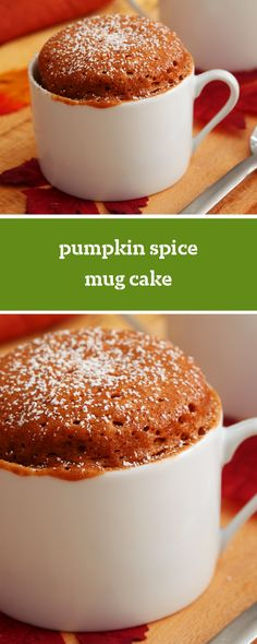 Pumpkin Spice Mug Cake – This dessert recipe is sweet, spice, and everything nice! Whether you make each of your kiddos their own or need a sweet treat for yourself—this recipe has it all.
