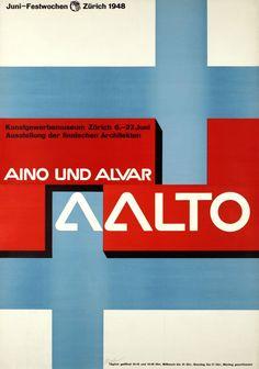 Aino und Alvar Aalto exhibition 1948