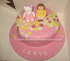 Homemade Hello Kitty Cake Idea