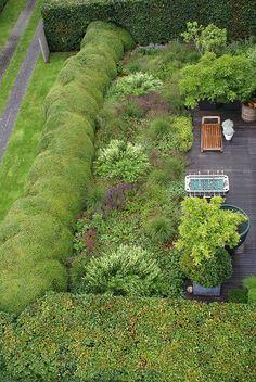 An Oudolf designed private garden for Piet Boon, Oostzaan, Rotterdam, The Netherlands. _/\/\/\/\/\_