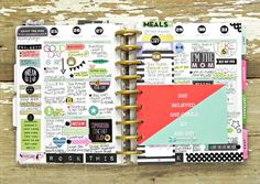 last week of May Happy Planner™ spread by mambi Deisgn Team member Stephanie Buice | me & my BIG ideas
