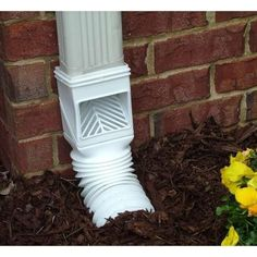 The Drainage Products Store - InvisaFlow Flex Grate Downspout Adapter