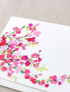 -watercolour flowers-