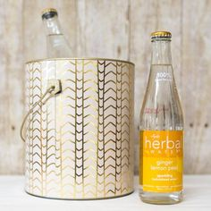 Take an old paint can and turn it into a glam ice bucket -- an easy upcycle project.