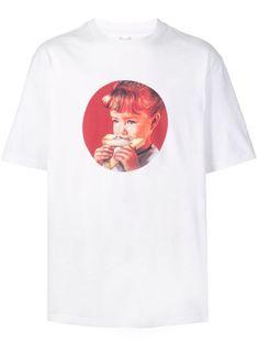 Palace munchy print T-shirt - White Size Clothing, Palace, Street Wear, Women Wear, Short Sleeves, Mens Fashion, Mens Tops, T Shirt, Fashion Design
