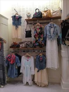 display for clothing flea market - Google Search