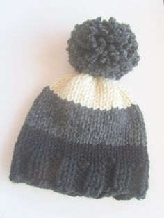 38586cdad9a Items similar to Ombre Knit Hat