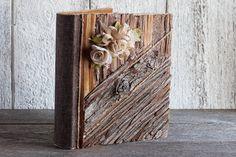 Photo album 4 x 6/Wood wedding album/Wedding by lechoixdelamariee