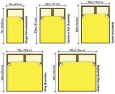 Bed Sizes Australia Measurements Dimensions In Mattressmeasurements