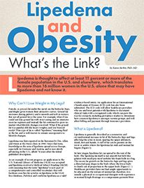 Obesity Action Coalition  » Lipedema and Obesity