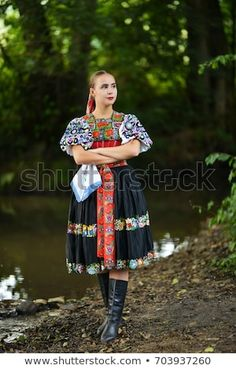"Stock fotografie ""Slovakian Folklore Traditional Costume"" (k okamžité úpravě) 703938187 Folk Costume, Halloween Costumes, Ethnic Diversity, Popular, Marceline, Photo Editing, Royalty Free Stock Photos, Product Launch, Traditional"