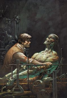 Original Comic Art titled Greg Staples Frankenstein Wrightson homage, located in andy's FOR SALE/TRADE Comic Art Gallery Comic Book Artists, Comic Books Art, Comic Art, Fantasy Kunst, Fantasy Art, Dracula, Bernie Wrightson, Vampire Masquerade, Comic Kunst