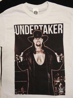 The Undertaker Deadman Wrestling WWE White T-Shirt #WWE #GraphicTee