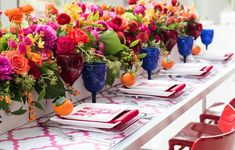 Happy Cinco de Mayo! Today we are celebrating in style with these fabulous wedding ideas for the perfect Mexican-themed fiesta. Featuring bright colors, cactus-inspired floral centerpieces, and genius use of coral hues; these ideas are sure to get you in the spirit. Scroll along to see even more fabulous ideas!