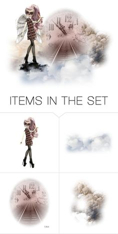 """""""Over the Clouds is another World"""" by sabine-713 ❤ liked on Polyvore featuring art"""