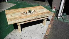 pallet-table-idea #furnitureideascheap