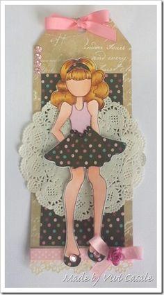Handmade by Vivi: Prima Doll Tag!