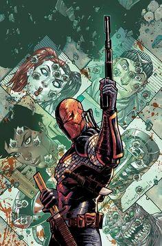 Deathstroke #11 cover by Tony S. Daniel,,,,,,,,,,,!!!!