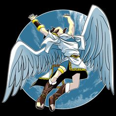 Led Icarus by Coinbox Tees #pit, #kidicarus