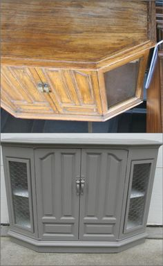 how to give an old plastic console a great makeover with diy chalky paint and chicken wire by debra Furniture Deals, Furniture Makeover, Cool Furniture, Painted Furniture, Repurposed Furniture, Shabby Chic Furniture, Chalky Paint, Do It Yourself Furniture, Cabinet Makeover