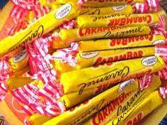 Le Carambar : du caramel DUR et collant aux dents !