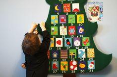 Адвент-календарь на весь декабрь мастер-класс http://www.livemaster.ru/topic/1643945-master-klass-shem-novogodnij-advent-kalendar-elka?vr=1&inside=1