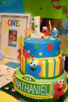 """Photo 1 of 11: Baby Sesame Street / Birthday """"Our sons 1st birthday"""" 