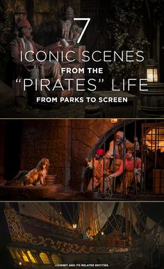 This year marks the 50-year anniversary of the Disneyland® Resort's original PIRATES OF THE CARIBBEAN attraction, and the 44th Anniversary of the attraction at Walt Disney World® Resort. As audiences anticipate the newest installment of the PIRATES franchise, DEAD MEN TELL NO TALES, we list some of our favorite callbacks to the attractions that started it all as found throughout the movies. Take a look, mateys!