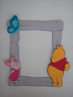 Scrappy Vee - Page Frames - Cricut Pooh & Friends