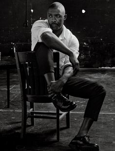 Idris Elba, photographed by Craig McDean