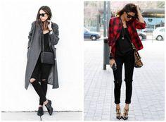 Como usar jeans preto rasgadinho | semmoldura.com.br