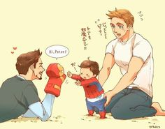 Imagenes yaoi Marvel & DC – Superfamily – Wattpad Marvel Universe – Anime Characters Epic fails and comic Marvel Univerce Characters image ideas tips Superfamily Avengers, Stony Avengers, Baby Avengers, Avengers Comics, Spideypool, Stony Superfamily, Marvel Dc, Marvel Fan Art, Disney Marvel