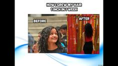 GROW 6 inch hair in 6 weeks by Inversion yoga