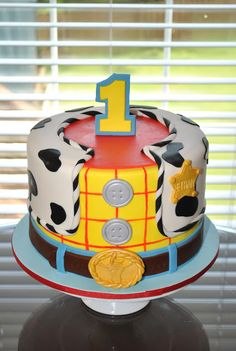 Hope's Sweet Cakes: Toy Story/Woody Cake. This is the cutest cake!