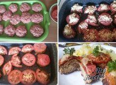 Recept Extrémně šťavnaté karbanátky s kožíškem Beef, Snacks, Ethnic Recipes, Soups, Cooking, Meat, Appetizers, Soup, Treats
