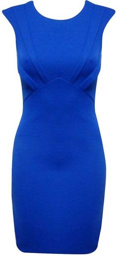 **prefer a more festive color, love the style Jane Norman Space Dress - Lyst Trendy Dresses, Day Dresses, Blue Dresses, Vintage Dresses, Short Dresses, Fashion Dresses, Dresses For Work, Formal Dresses, Mode Style