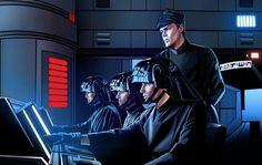 Death Star Control Coloured by GARTART on DeviantArt