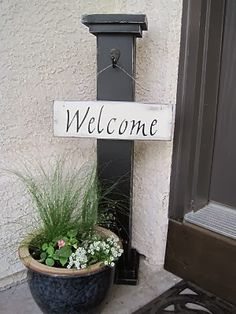 I like this for a little added something to the front porch.