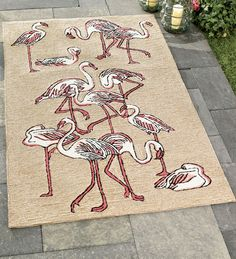 Flamingo Rug! Must have....