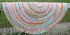 A Beautiful Accent for Your Home! Is your scrap bag overflowing? If so, you can whittle it down to size by making a beautiful fabric rug. This one has all the charm of a braided rug but is easier to construct. Plus, your style of scraps will make it uniquely yours. Fabric strips are wrapped …