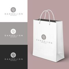 Create a modern chic logo for Dandelion Event Rentals!