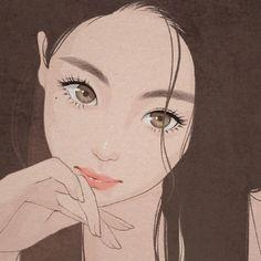 Anime Girl Drawings, Anime Art Girl, Cute Drawings, Cute Anime Character, Character Art, Character Design, Cartoon Art Styles, Cute Art Styles, Aesthetic Art