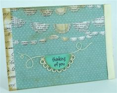 card by Kim using Craft Queen tiny twine www.craftqueen.com.au