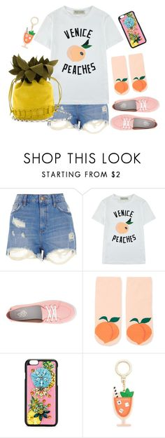 """""""Fruitalisious"""" by neon-life ❤ liked on Polyvore featuring River Island, Être Cécile, Vans, Forever 21, Dolce&Gabbana, Kate Spade, casual and fruit"""