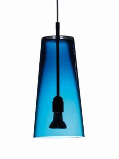 Manhattan pendant - blue glass, Manhattan pendant - Holloways of Ludlow